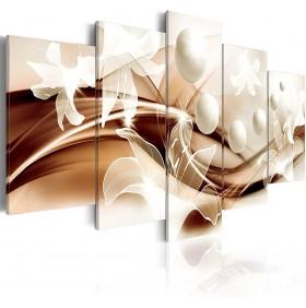 Toile Imprimée HD Afrique 100x50cm