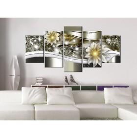 Toile Imprimée HD Abstrait 100x45cm