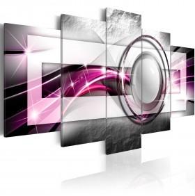 Toile Imprimée HD Abstrait 100x50cm